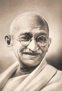 Un pensiero di Mahatma Gandhi