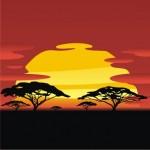 tramonto-africano-con-albero-sagome_279-10407