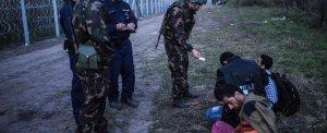 Controlli sul confine ungherese (ansa)